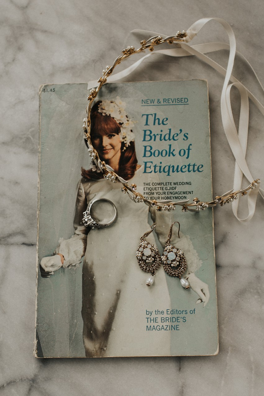 Boho Vintage Bridal Accessories