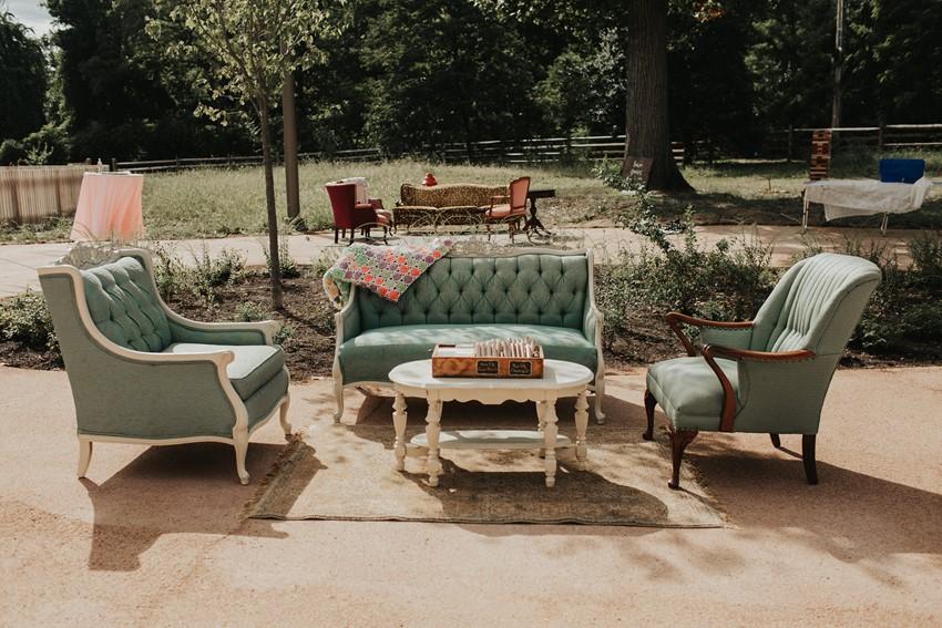 Vintage Garden Wedding Lounge
