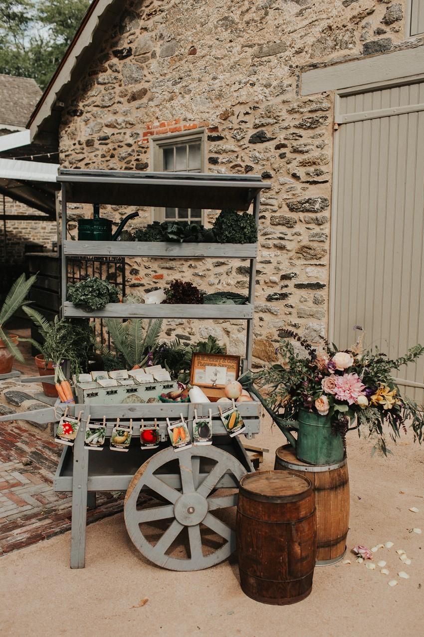 Garden Wedding Seeds Seating Chart