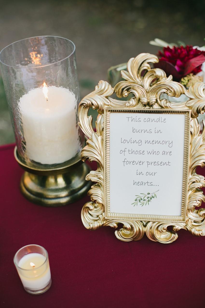 Wedding Missing Loved Ones