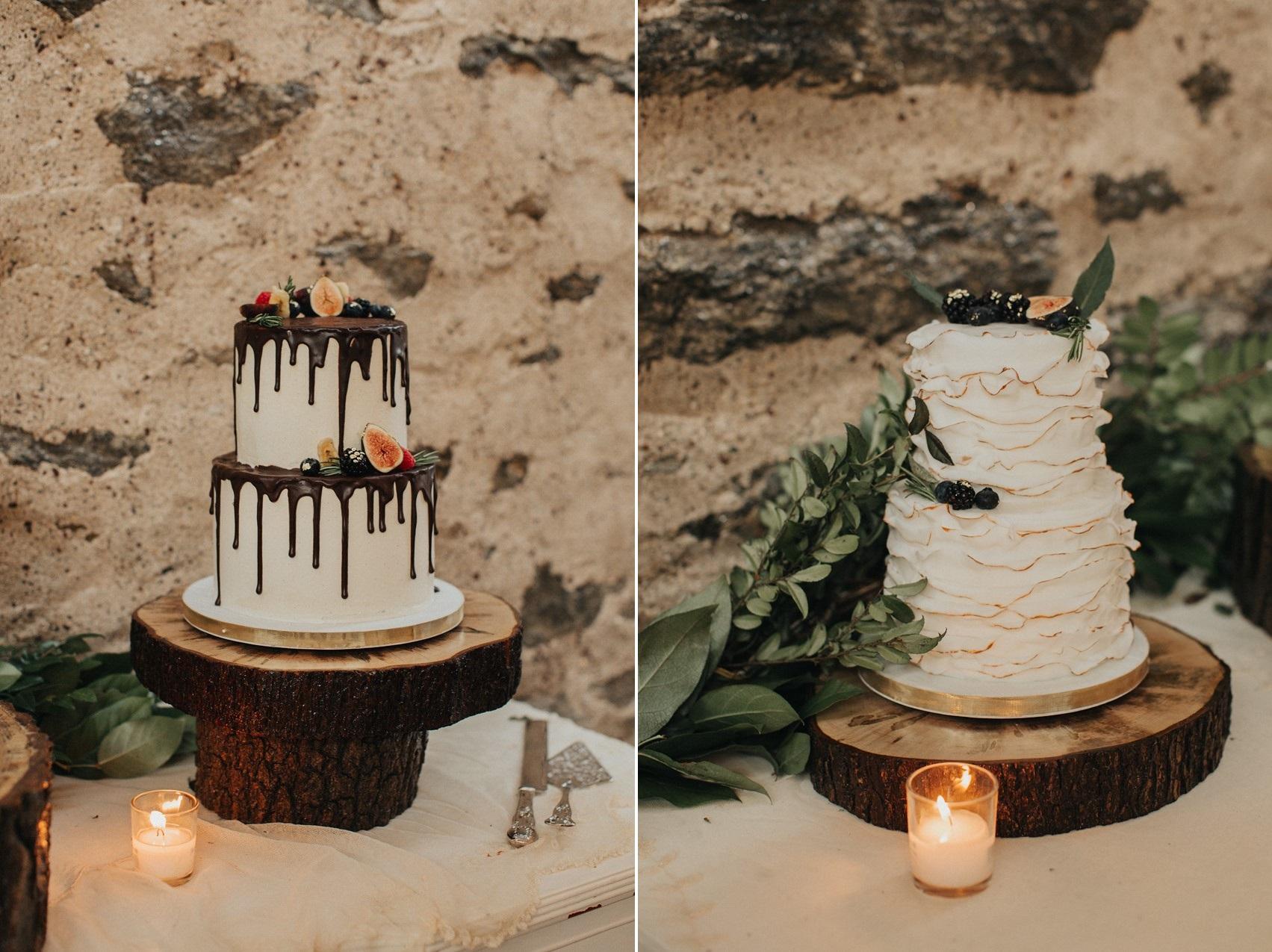 Drizzle Wedding Cake