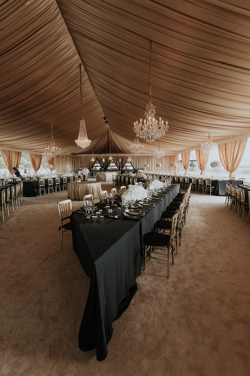 Luxe Biltmore Estate Wedding Reception