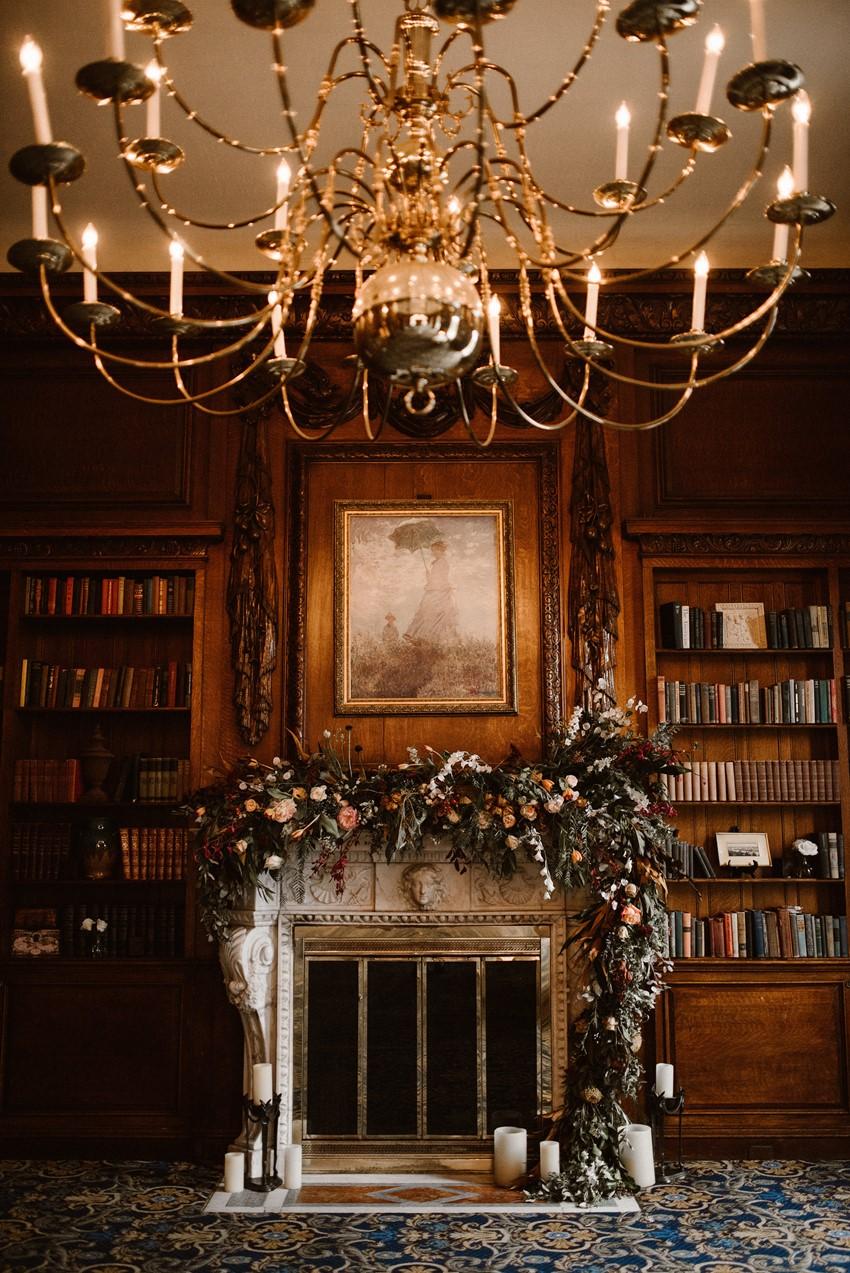 Hampshire House Wedding Decor