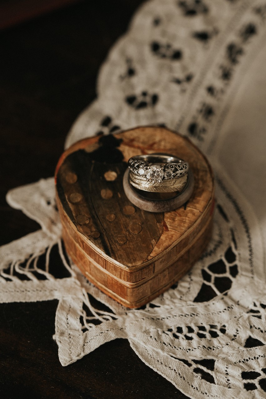 Wedding Rings and Ring Box