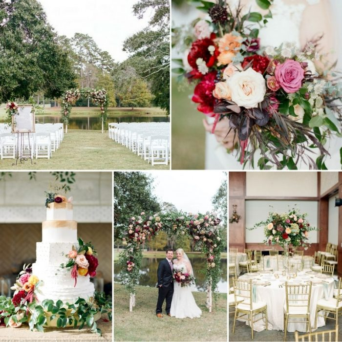A Showstopping Floral Wedding in Romantic Shades of Pink