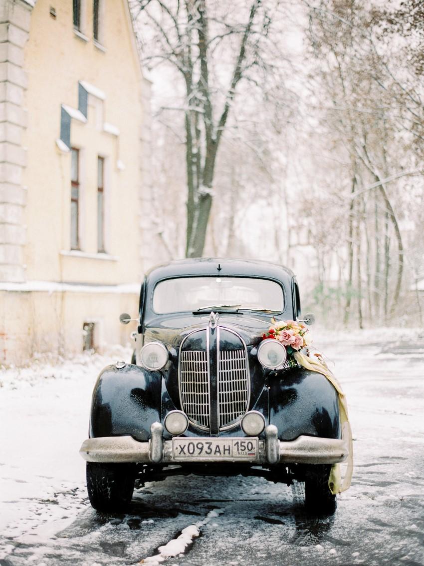 Black Vintage Chrysler Desoto