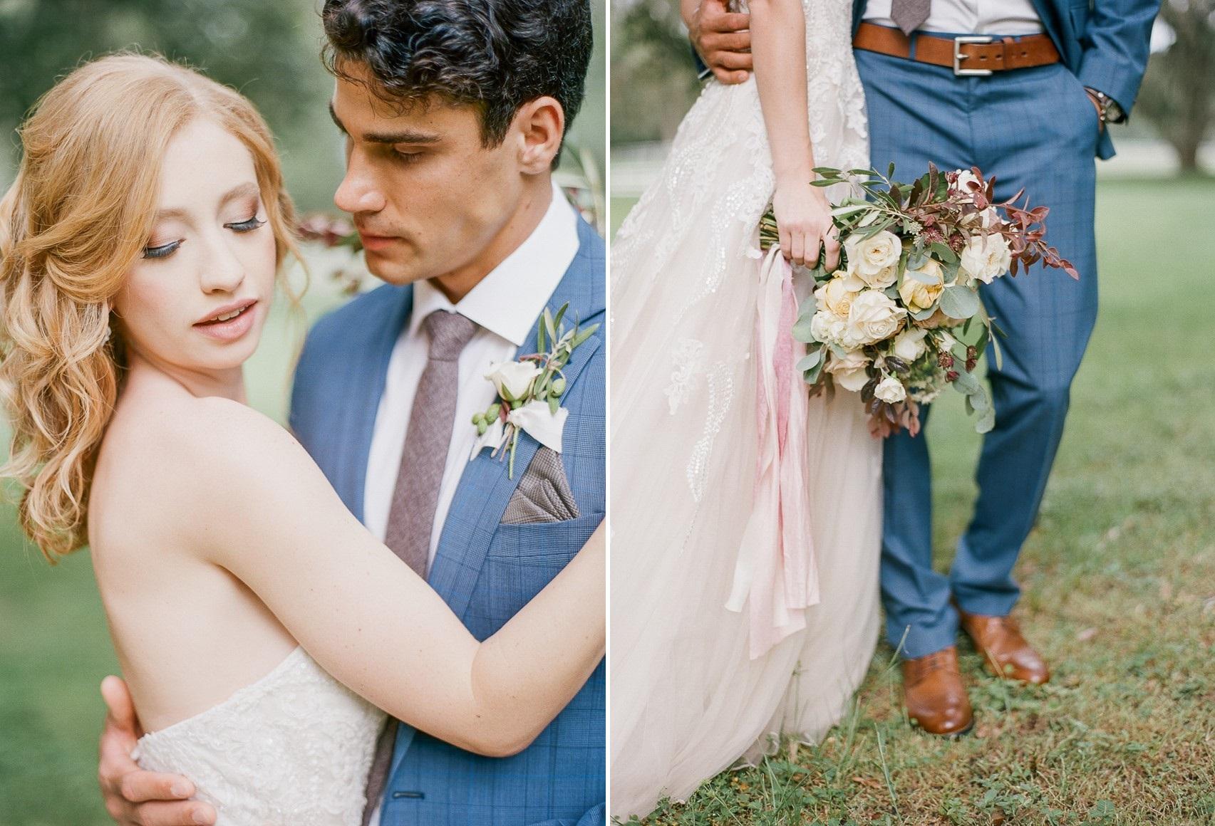 Spring Bride & Groom at Stonebridge Weddings