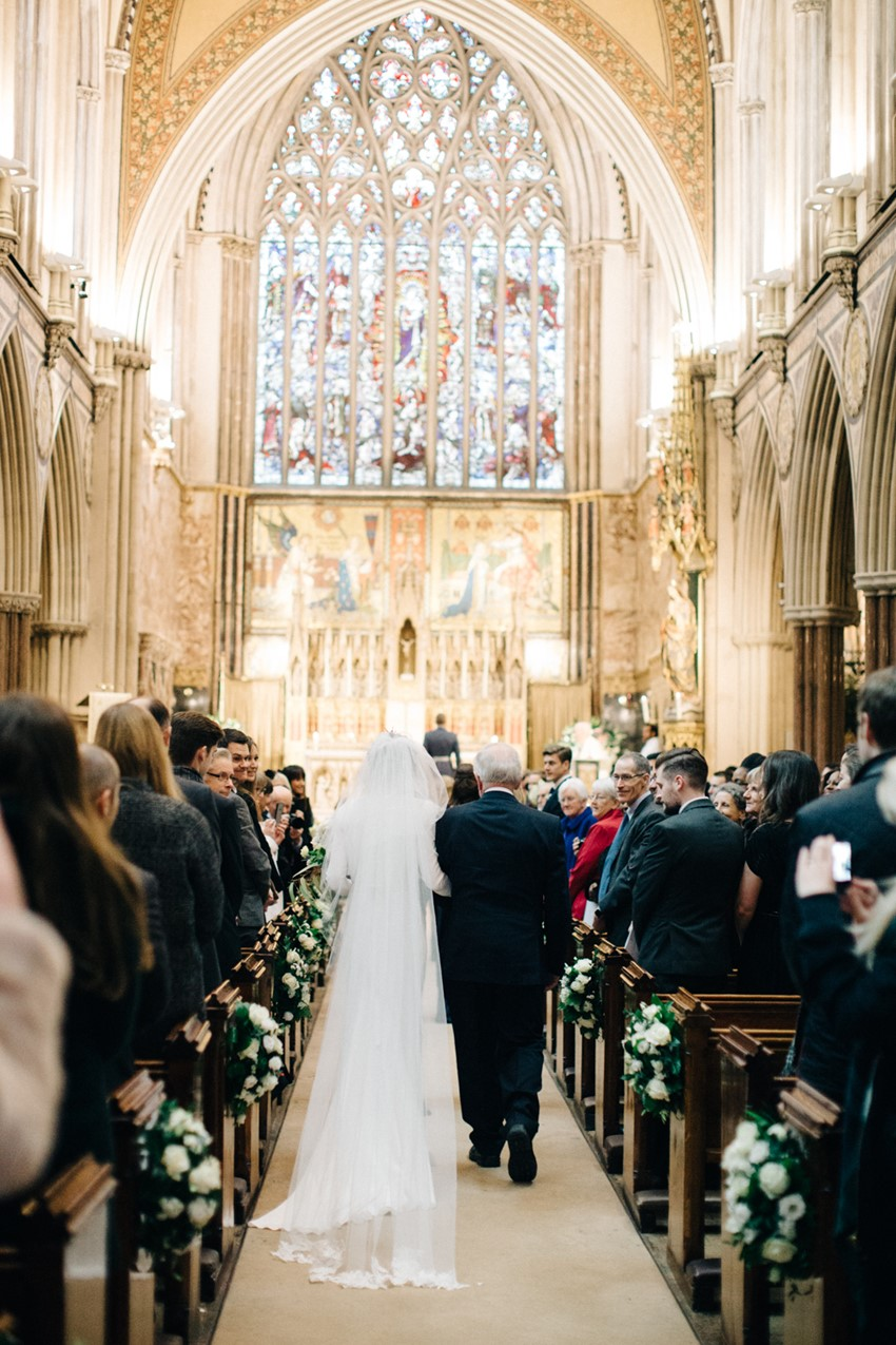 English Cathedral Wedding