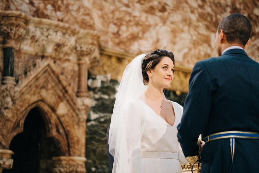 English Church Wedding Ceremony