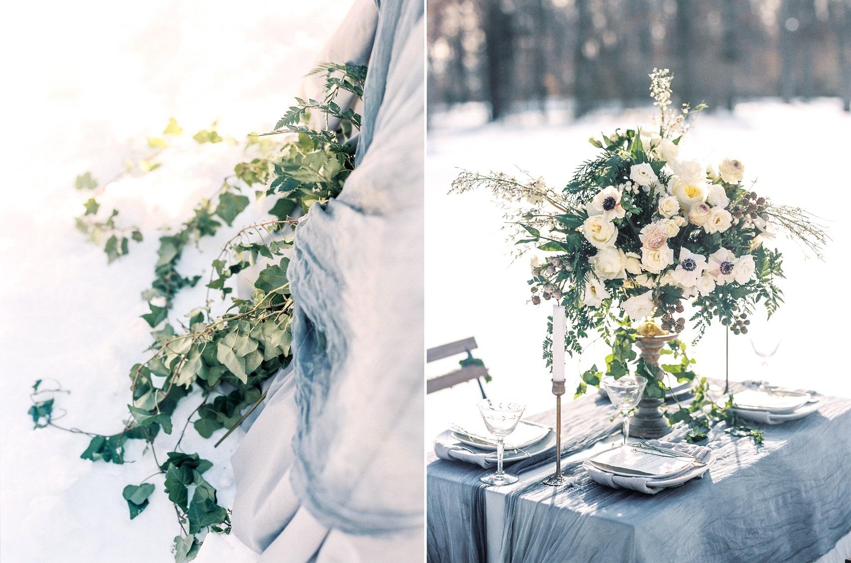 Dusky Blue Wedding Inspiration