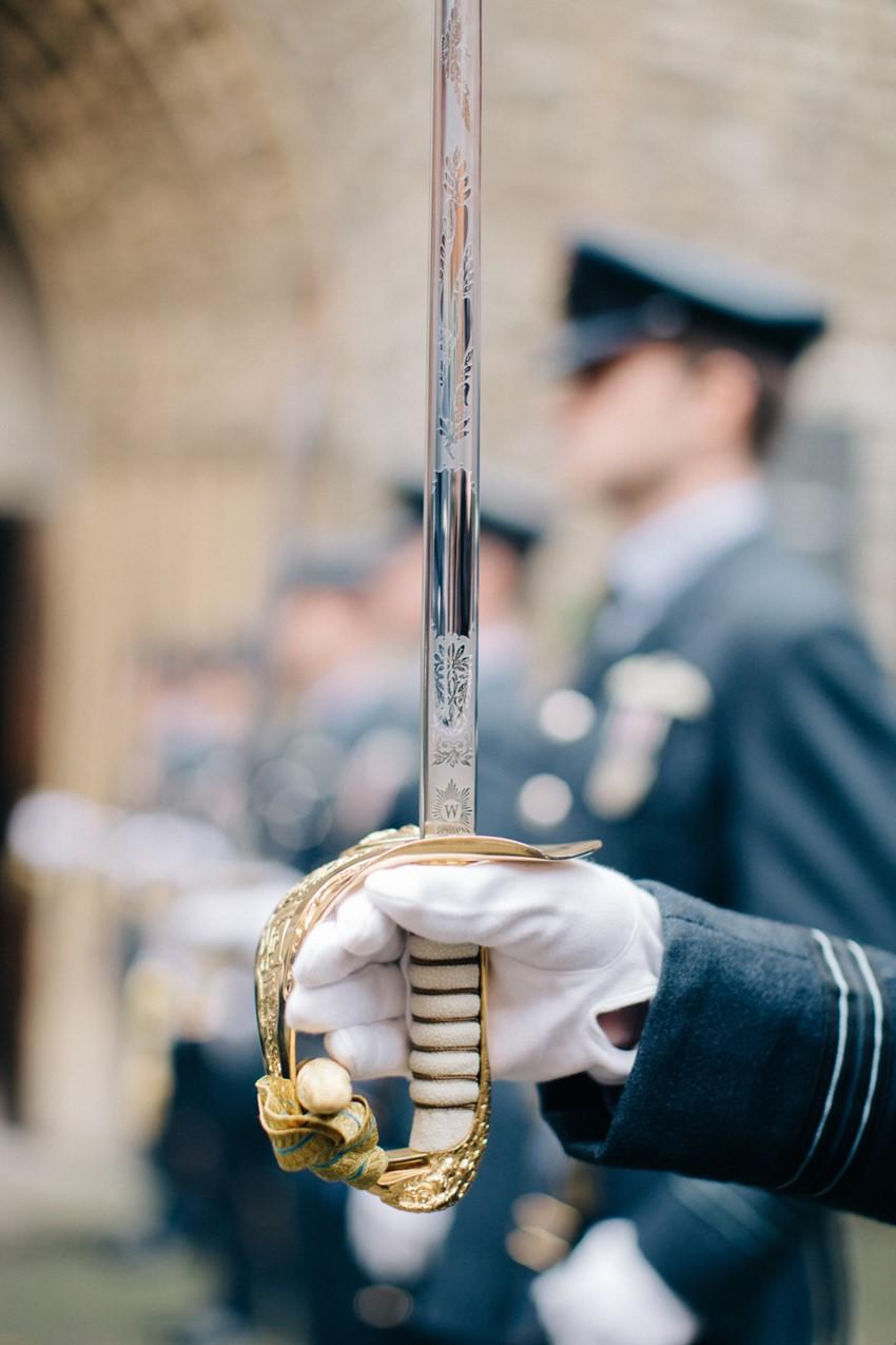 English Military Wedding