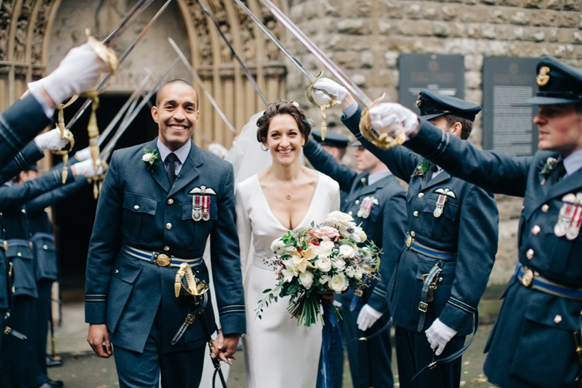 Military Church Wedding