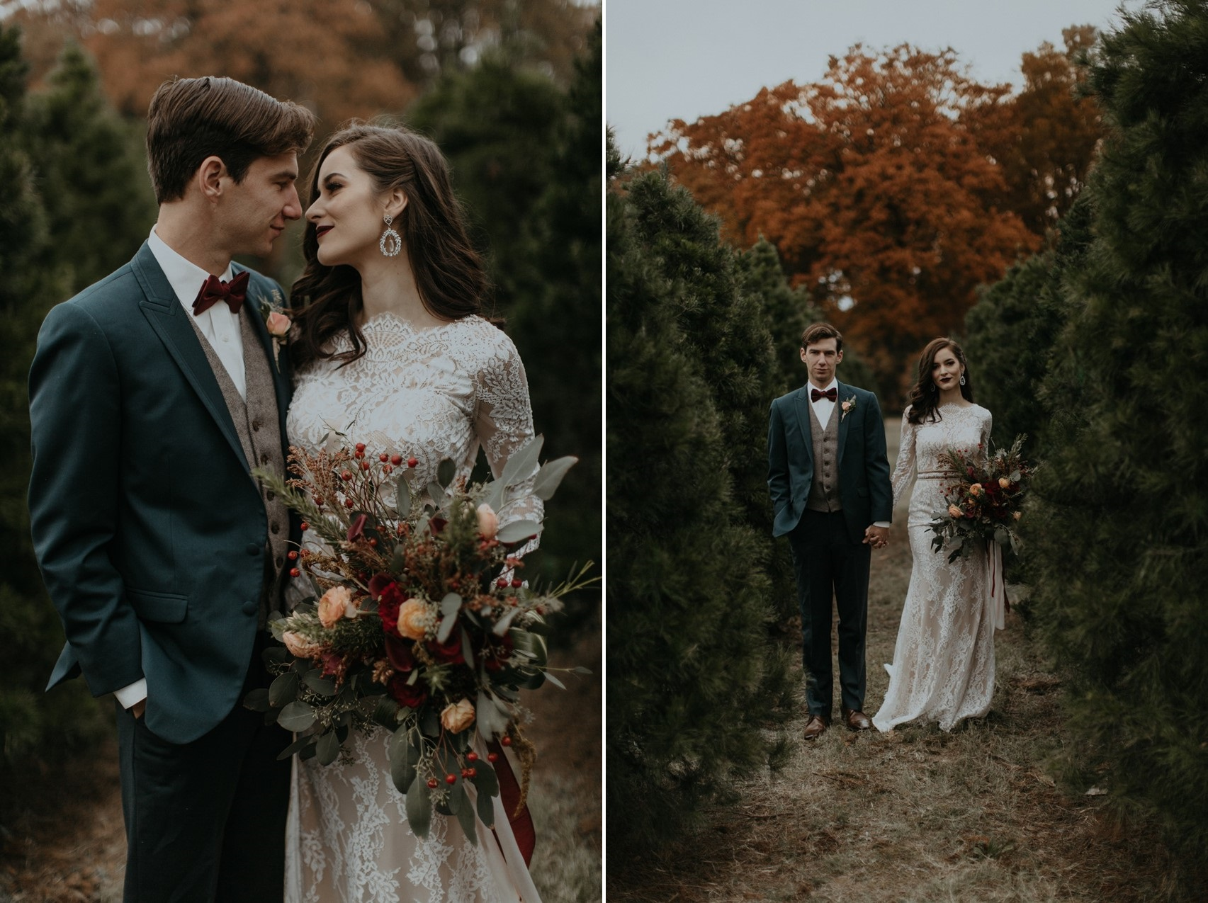 Christmas Tree Farm Wedding
