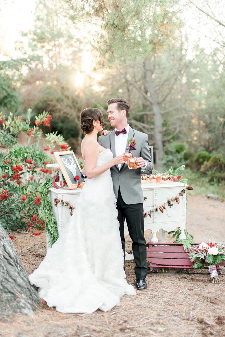 Holiday Season Wedding