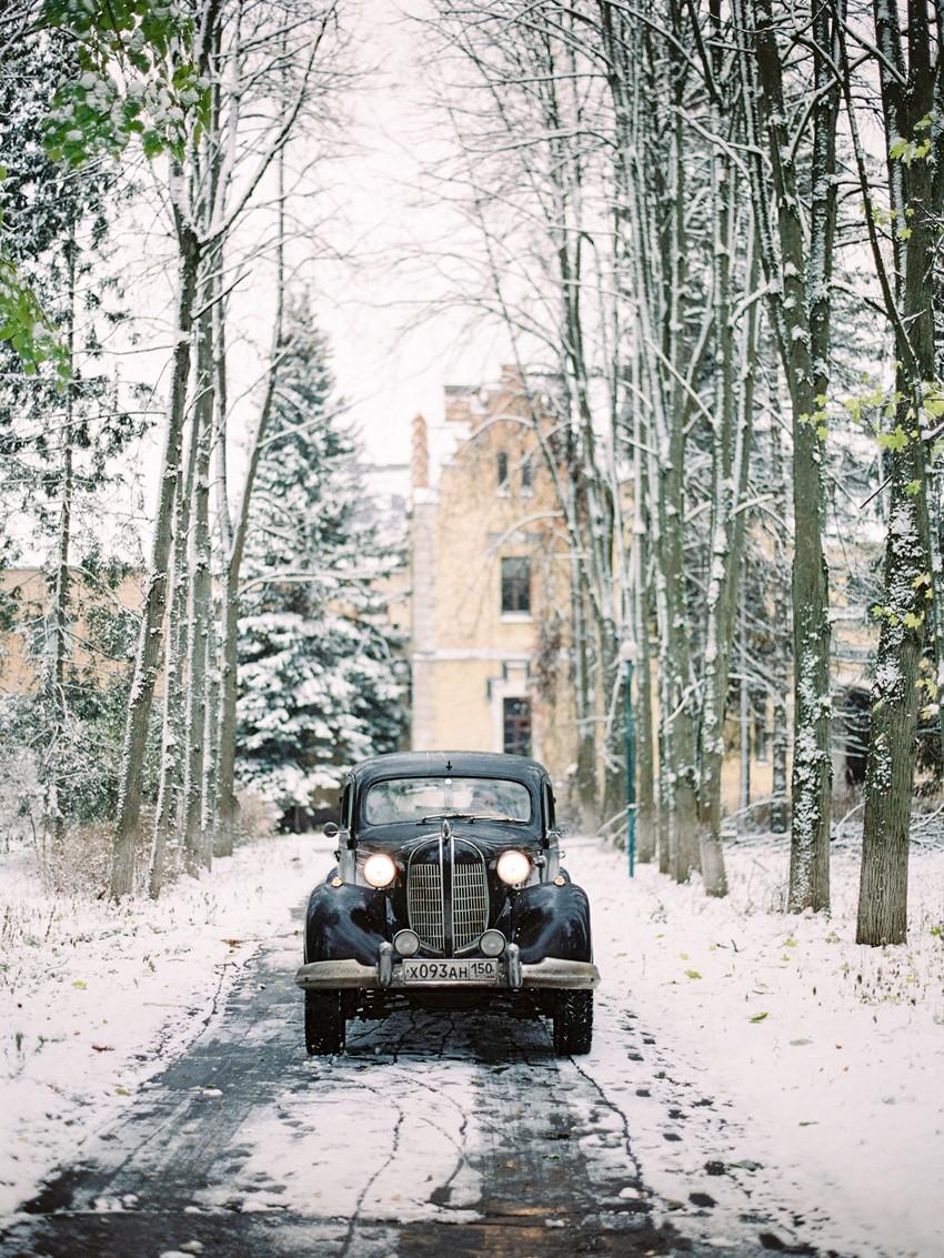Vintage Chrysler Desoto Wedding Car