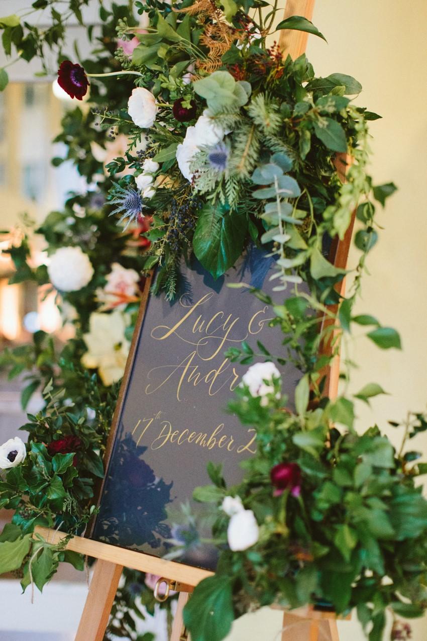 Festive London Wedding