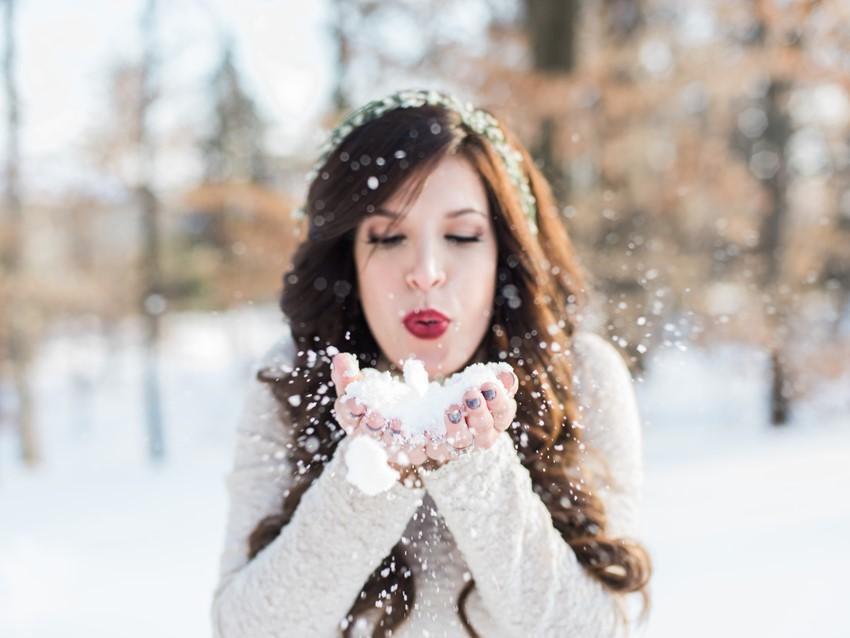 Snowy Winter Wedding Inspiration