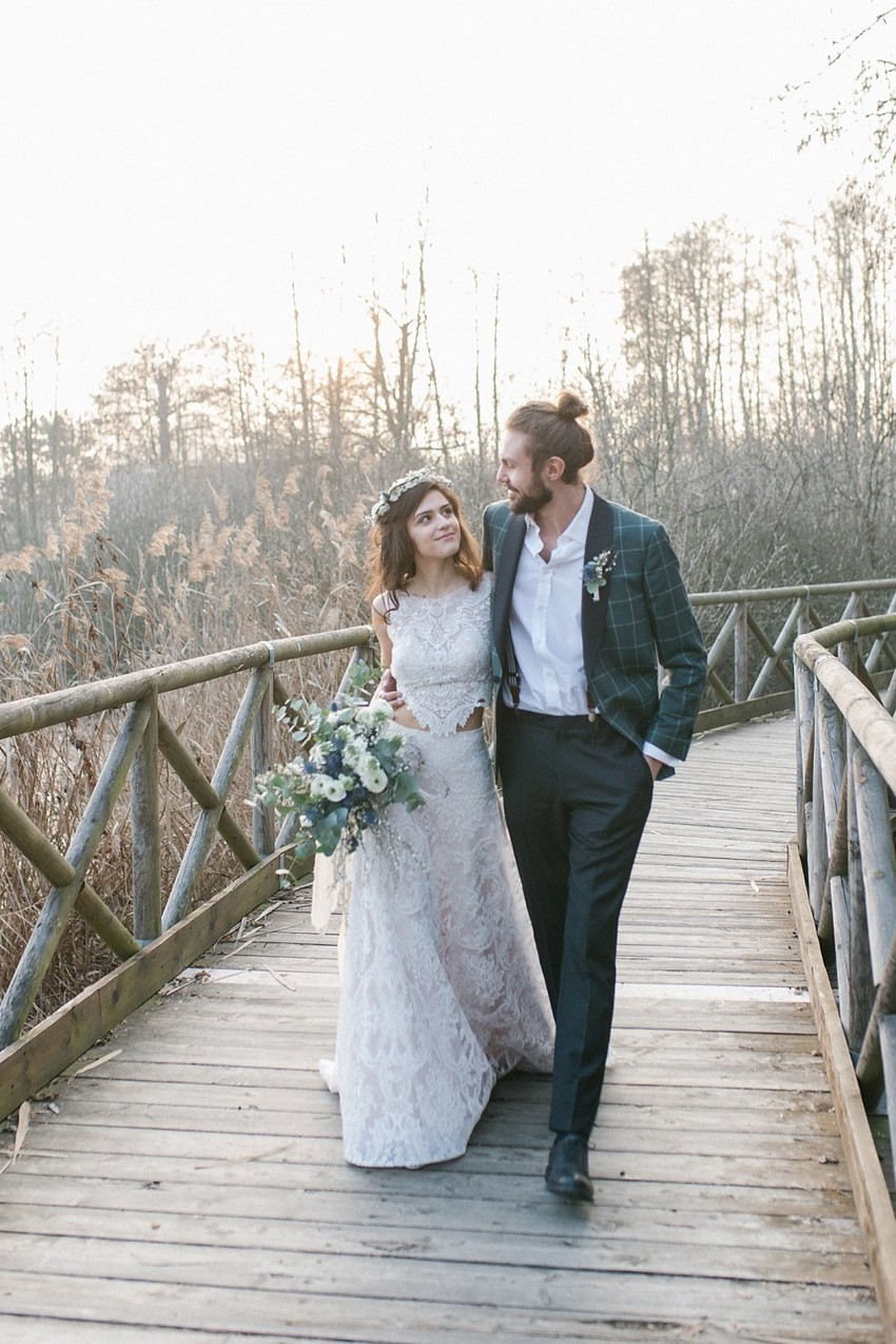 Romantic Italian Winter Elopement