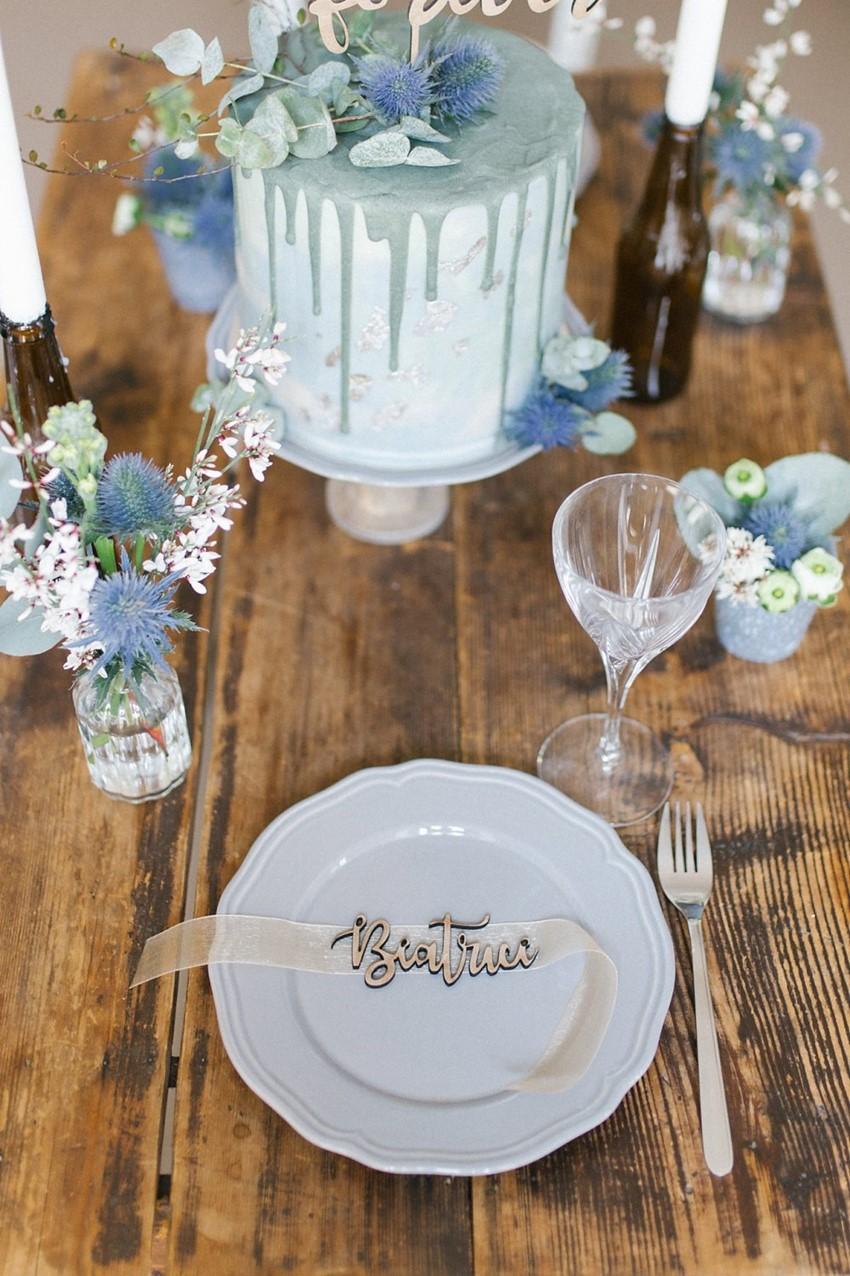 Elopement Wedding Place Setting