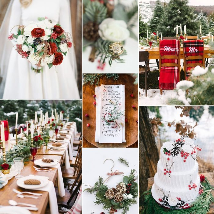 Timeless Noel Wedding Inspiration Board