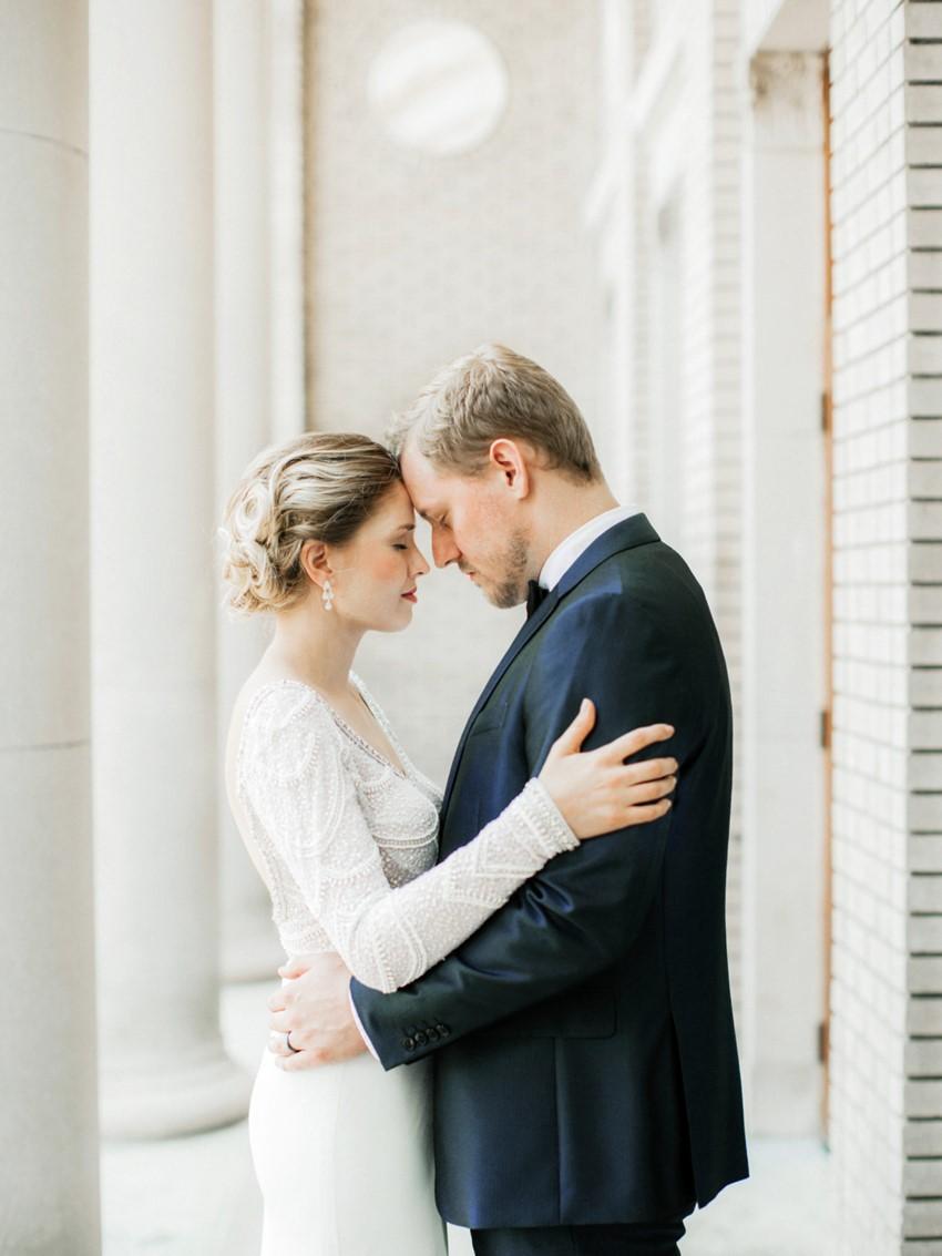 Art Deco Inspired Modern Wedding