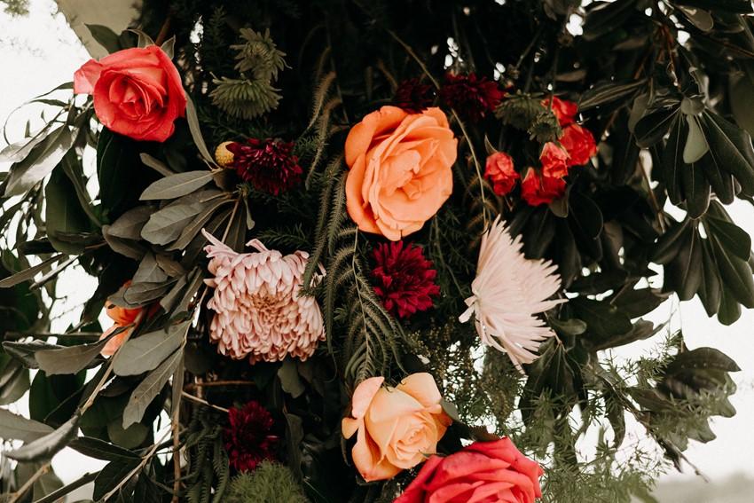 Garden Wedding Floral Arch