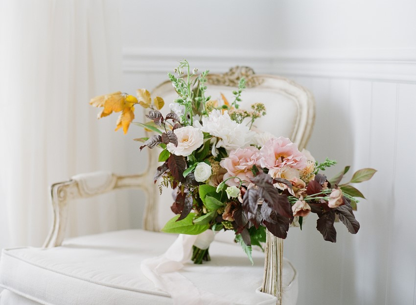 Organic Rose Bridal Bouquet