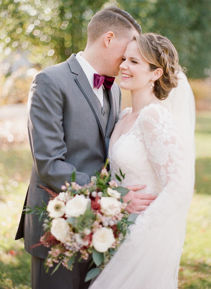 Romantic Fall Wedding Fine Art Photography