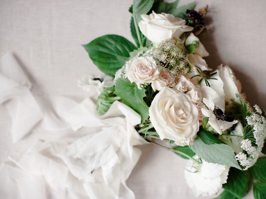 Romantic Spring Bridal Bouquet