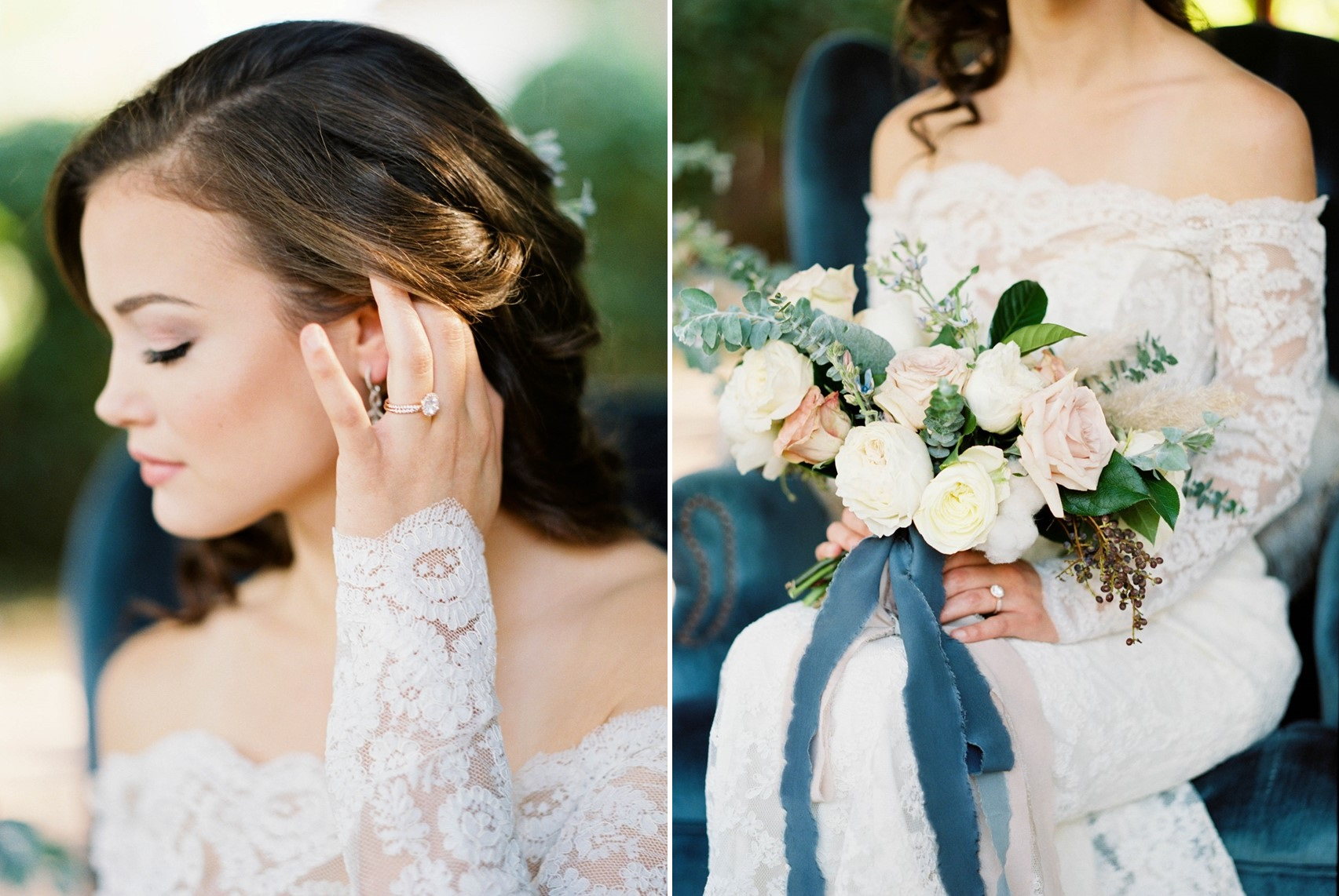 Romantic Vintage Inspired Bride