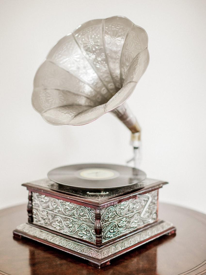 Gramophone Wedding Decor