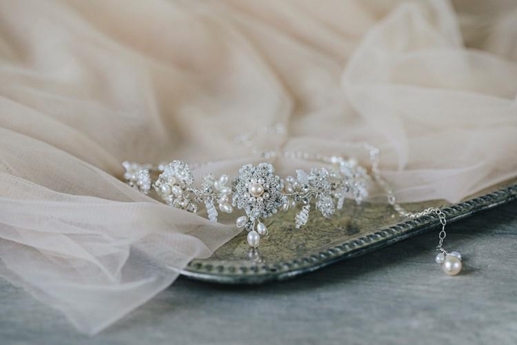 Bridal Choker Edera Jewelry 2018 Tesora Collection