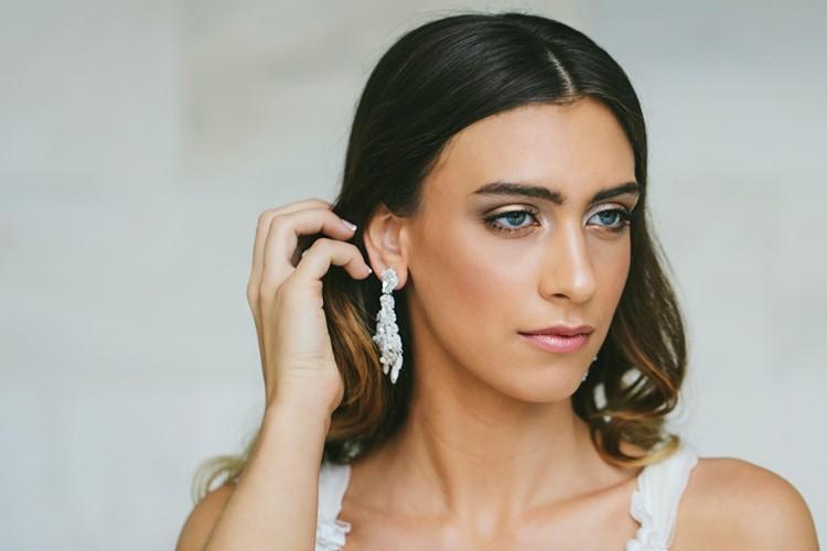 Bridal Earrings Edera Jewelry 2018 Tesora Collection