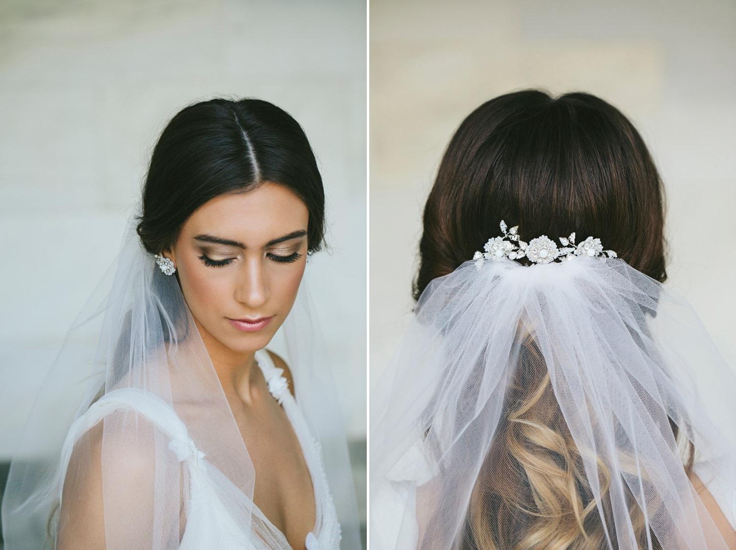 Bridal Veil Edera Jewelry 2018 Tesora Collection