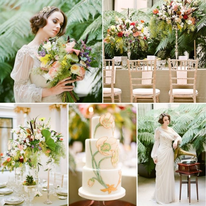 Art Nouveau Wedding Editorial