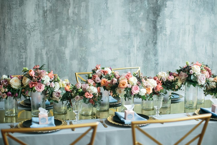 Romantic Spring Wedding Table