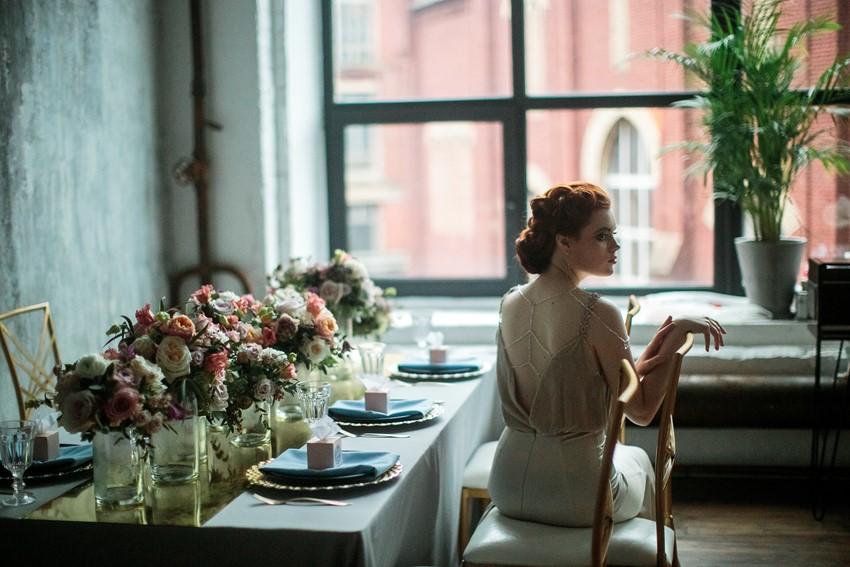 Floral Filled Spring Bridal Inspiration