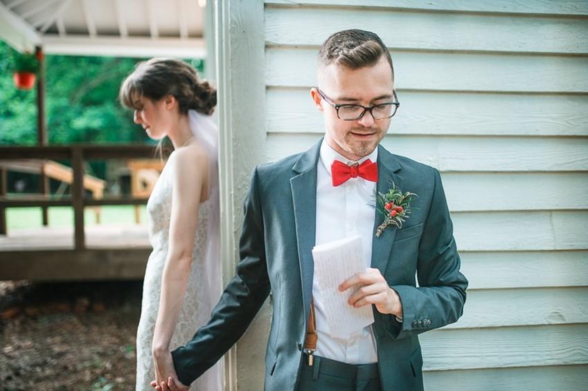 Emotional Wedding First Look
