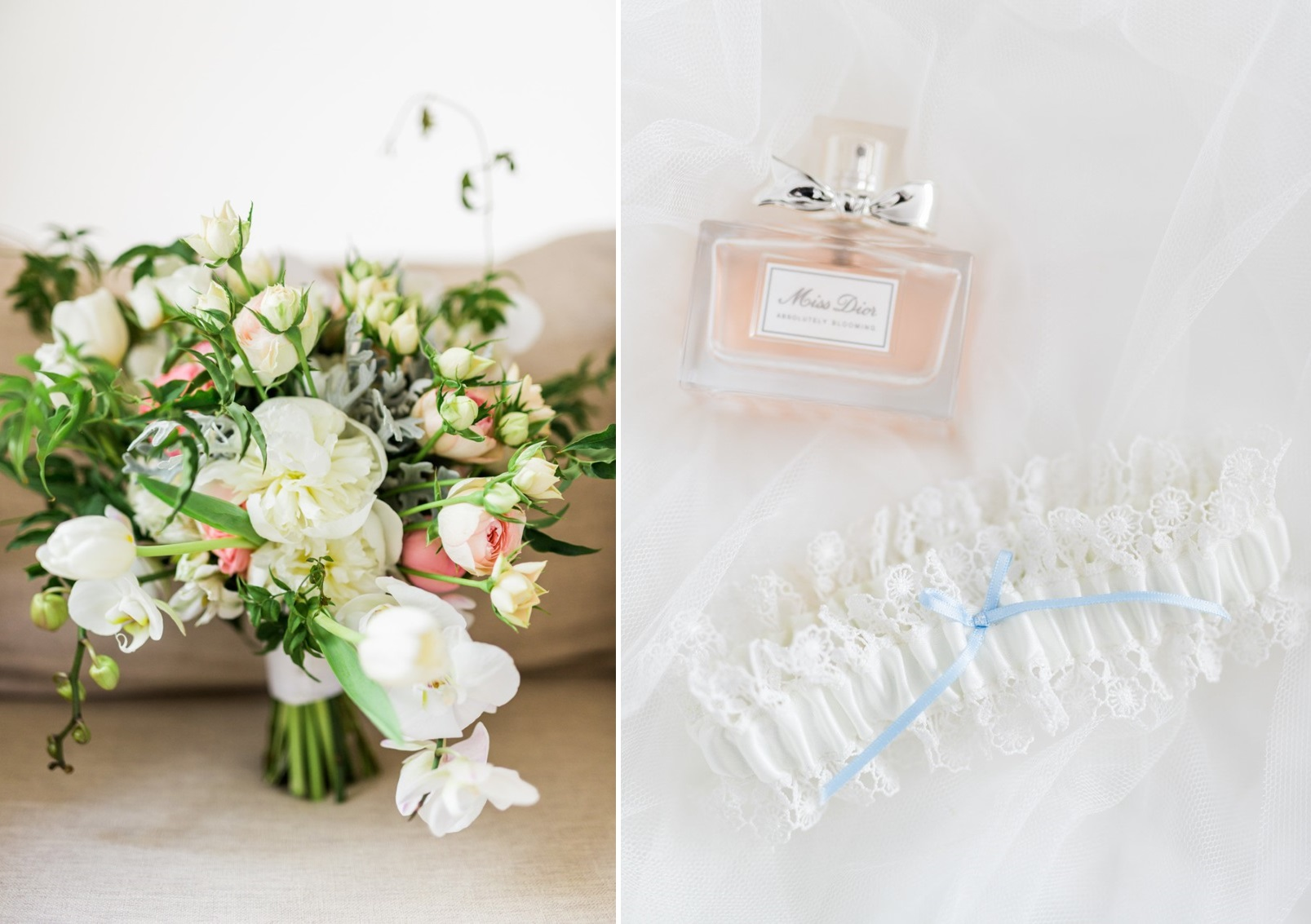 Bridal Bouquet & Perfume