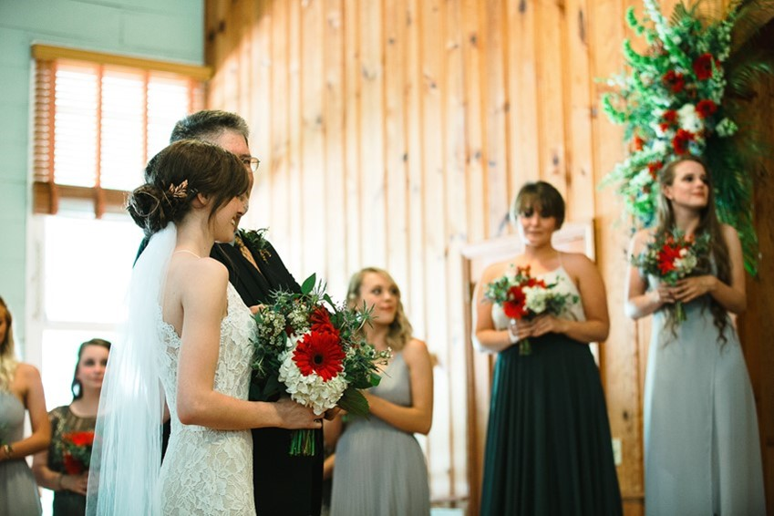 Country Church Wedding Ceremony