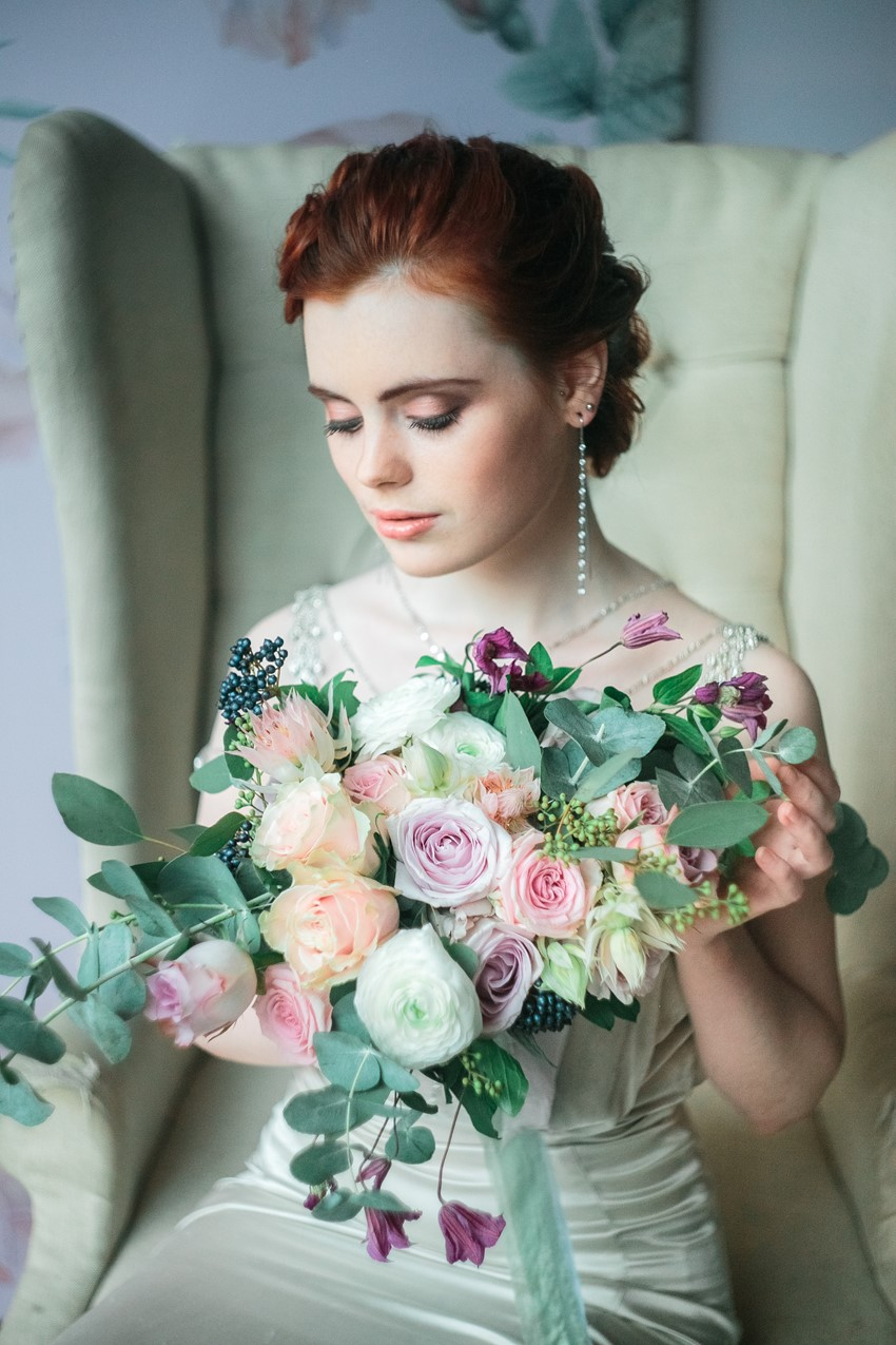 Floral Filled Spring Bridal Editorial