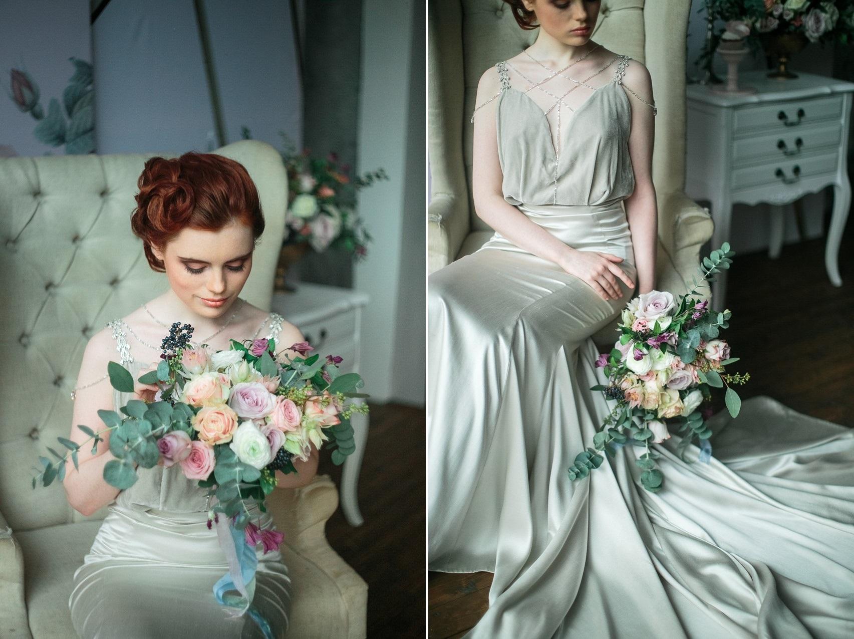 Vintage Inspired Spring Bride