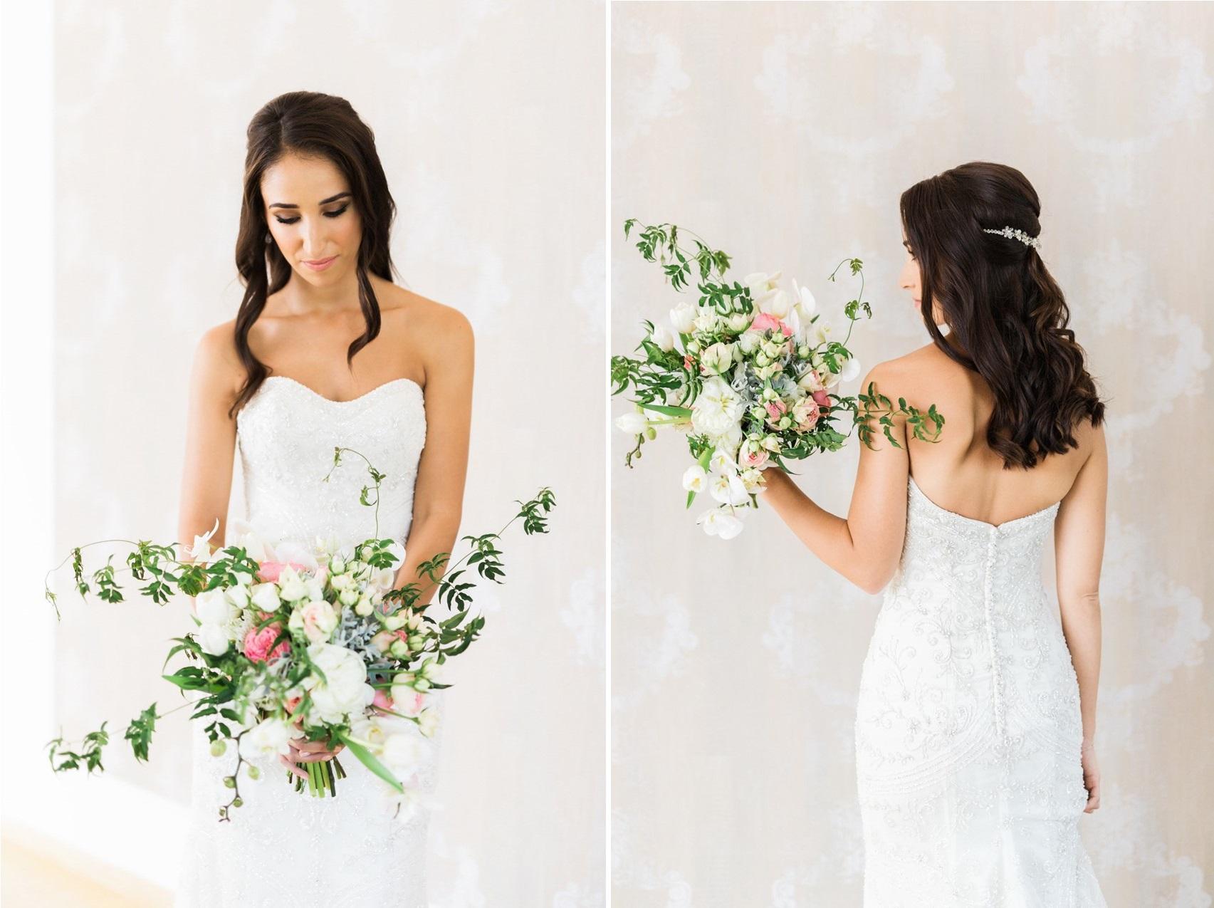 Pink & Greenery Bridal Bouquet