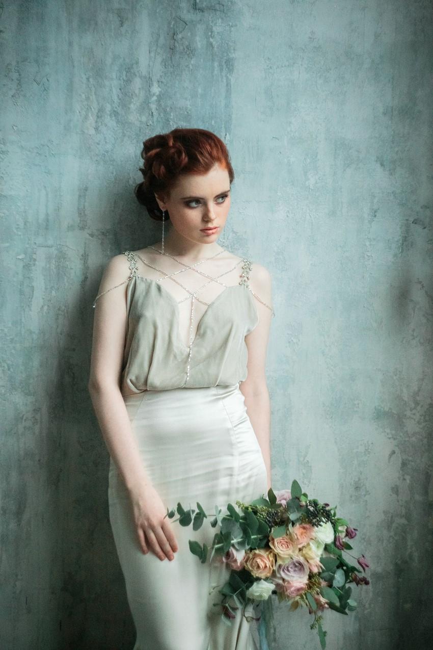 1930s inspired bride