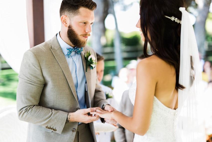 Romantic Portugal Wedding Ceremony