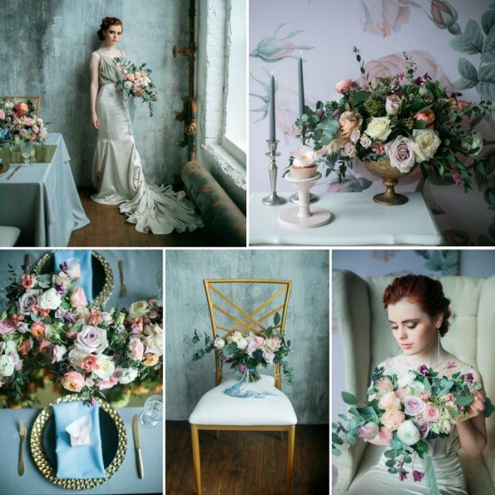 Spring Floral Filled Bridal Shoot