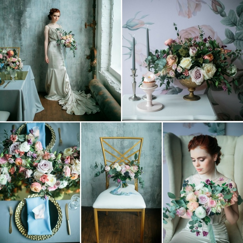 Spring Floral Filled Bridal Shoot