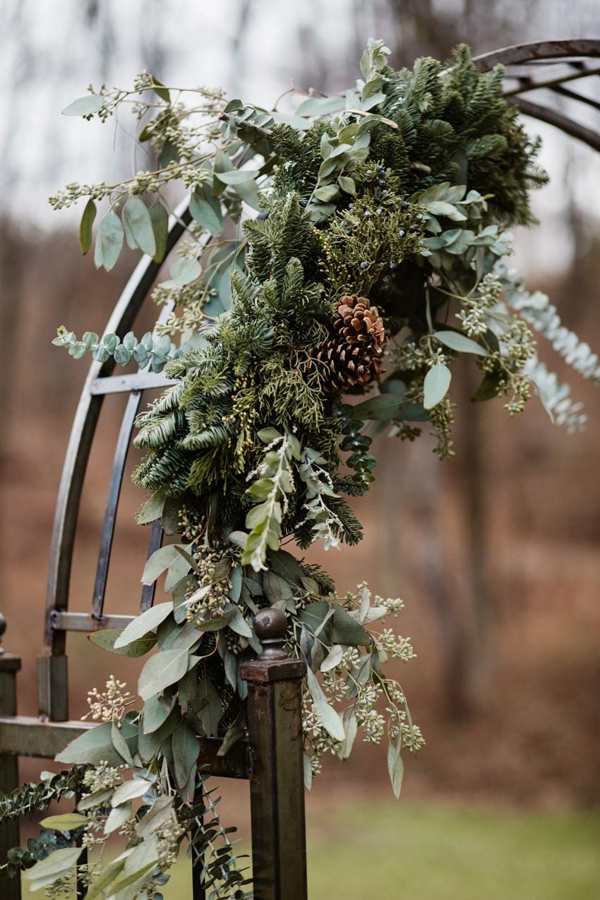 Scandi Wedding Arch