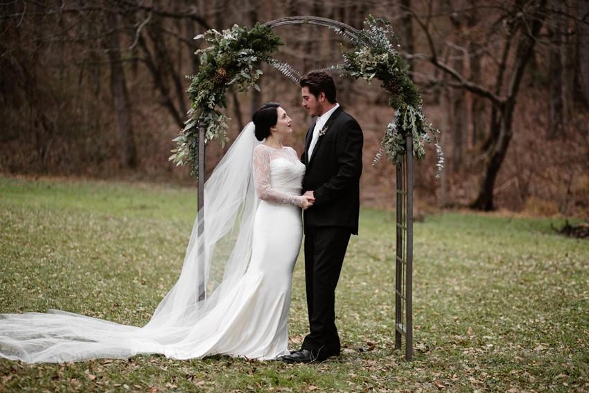 Scandi Wedding Ceremony Decor