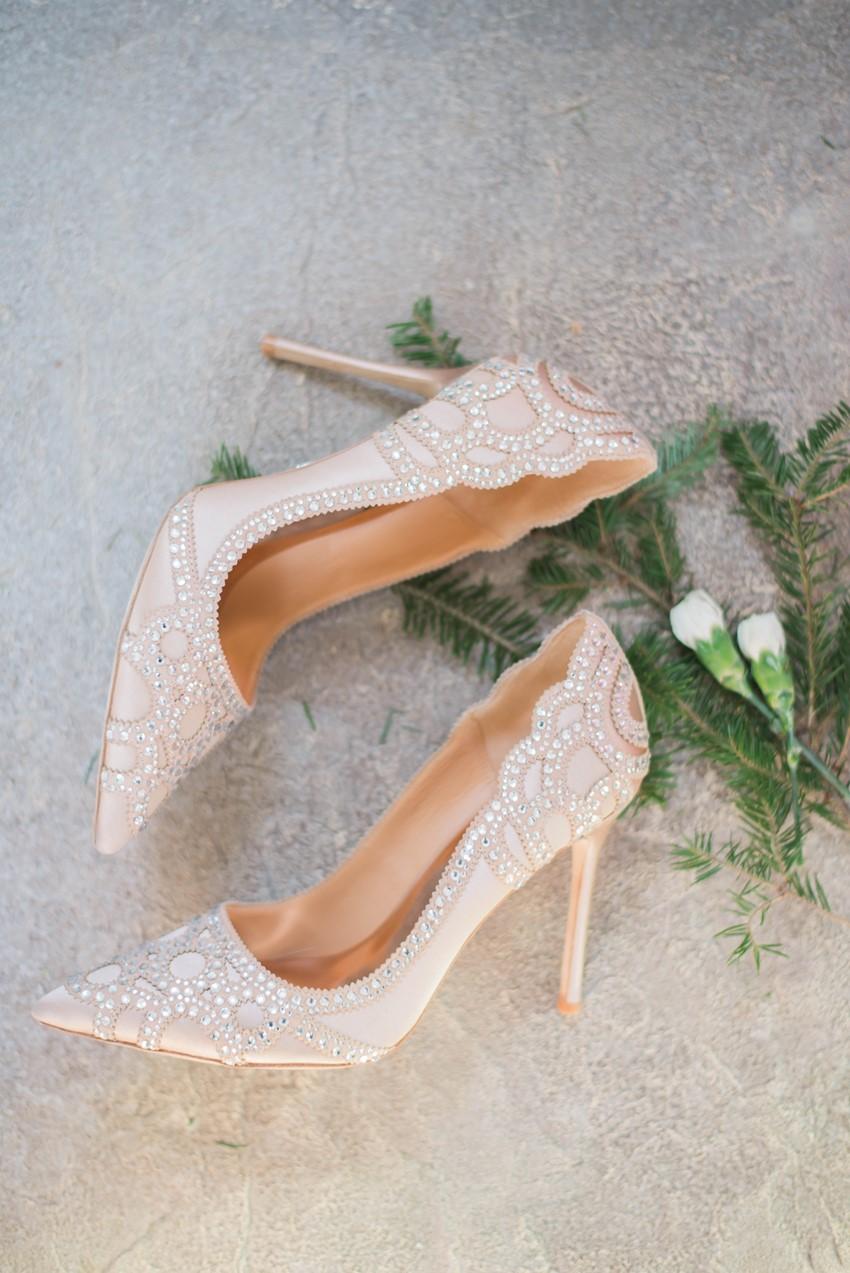 Glamorous Bridal Pumps